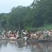 market flotilla on the Lualaba