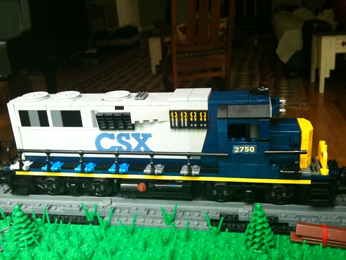 CSX GP38-2 right | by skuppi