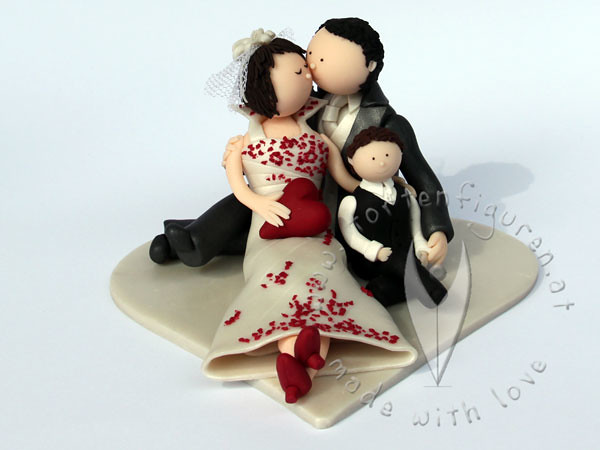 Familien Brautpaar Tortenfiguren Flickr