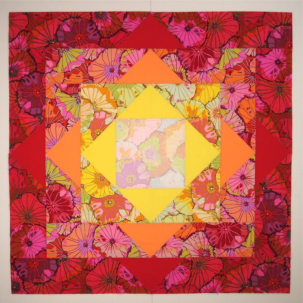 Facets Quilt Pattern Facets Quilt Pattern Made Using