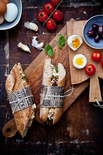 Tuna Nicoise Sandwiches | by tartelette