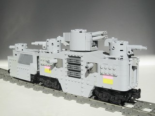 Mark VI Rail Battle Wagon | by Adult_Boy