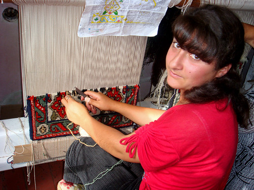 Carpet weaving in Armenia | by World Bank Photo Collection