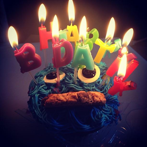 Monster Cookie Birthday Cake