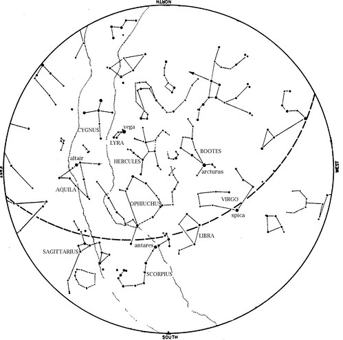 sky map july 2012 | by Houston Museum of Natural Science