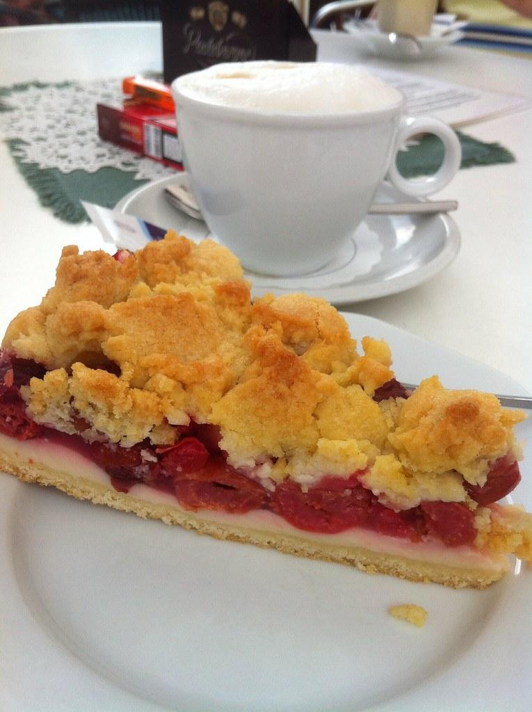Cherry Crumble With Yellow Cake Mix
