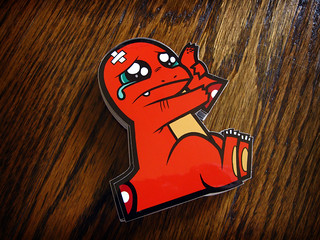charmander sticker | by jublin