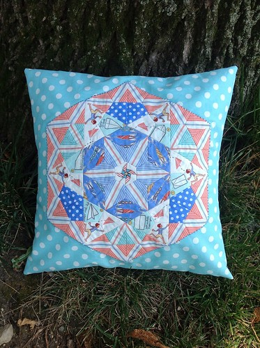 Star Blossom English paper piecing | by vardewoman