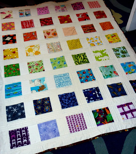i spy a rainbow quilt - finished! | by rose (is red)
