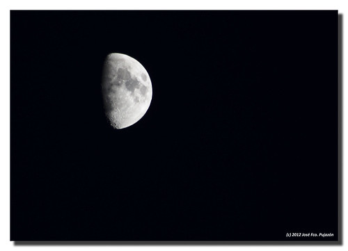 Luna creciente del 27-07-2012. | by José Francisco_(Fuen446)