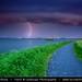 Netherlands - Thunderstorm and Lightning above Amsterdam