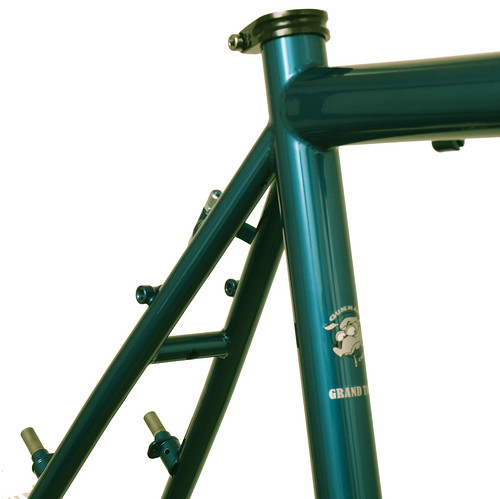 Grand Tour Seat Cluster in Teal | by Gunnar Cycles