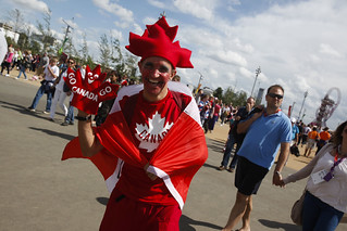 Fans in the Olympic Park | by Department for Digital, Culture, Media and Sport