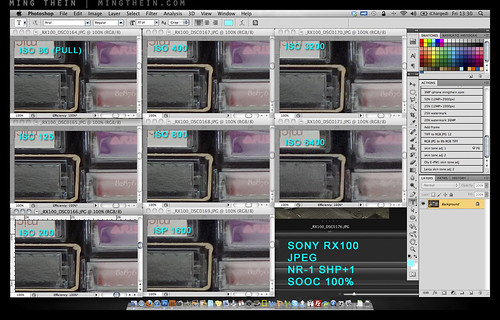 Sony RX100 noisetest | by mingthein