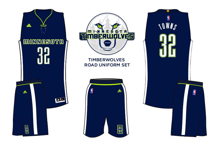 minnesota timberwolves new jerseys
