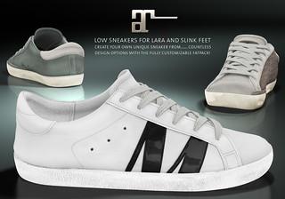 Maitreya Low Sneakers 2 | by onyx leshelle