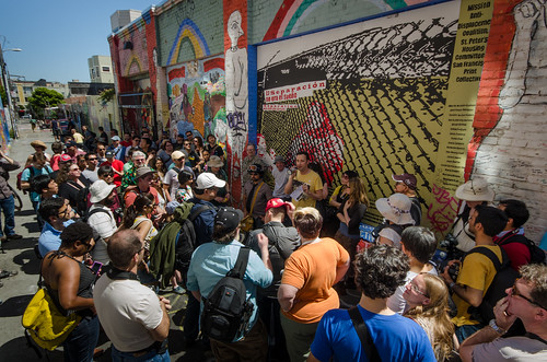 Crowd at Clarion Alley | by morozgrafix