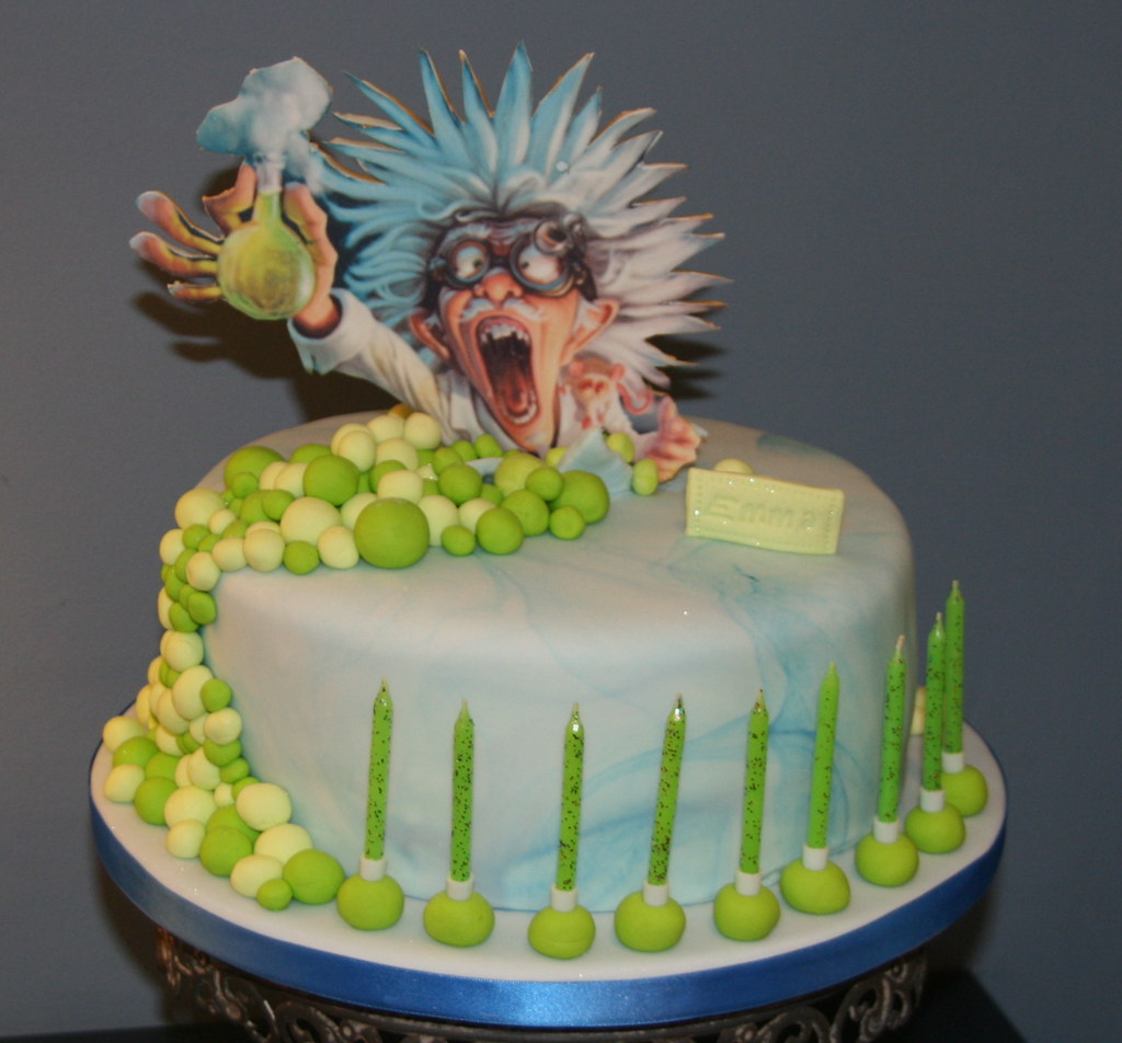 Mad Science Cake Ideas