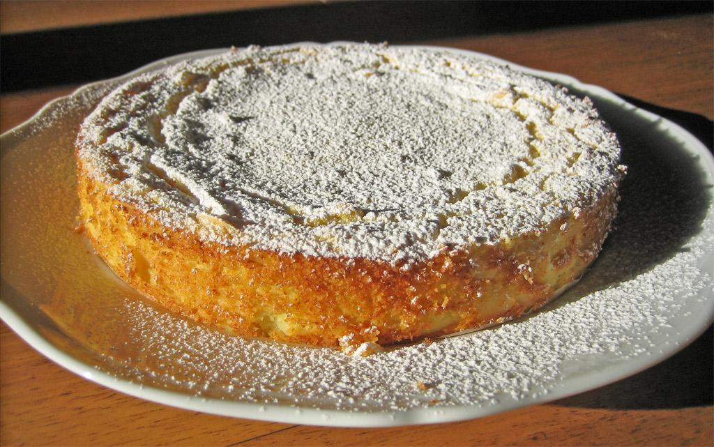 Torta di ricotta e semolino con mandorle sfogliate flickr for Nuove ricette dolci