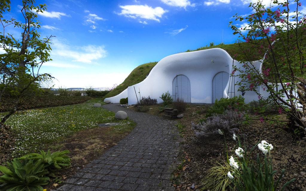 Earth house in dietikon switzerland teilansicht eines for Earth house switzerland