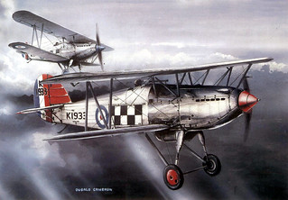 Hawker Furies 43 Sqdn by D. Cameron | by kitchener.lord