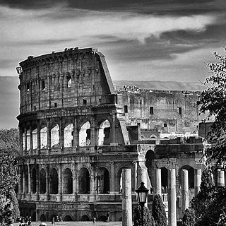 """As long as the Colosseum stands, Rome will stand. When the Colosseum collapses, Rome will collapse. When Rome collapses, the world will collapse."" Prophecy by the Venerable Bede... 
