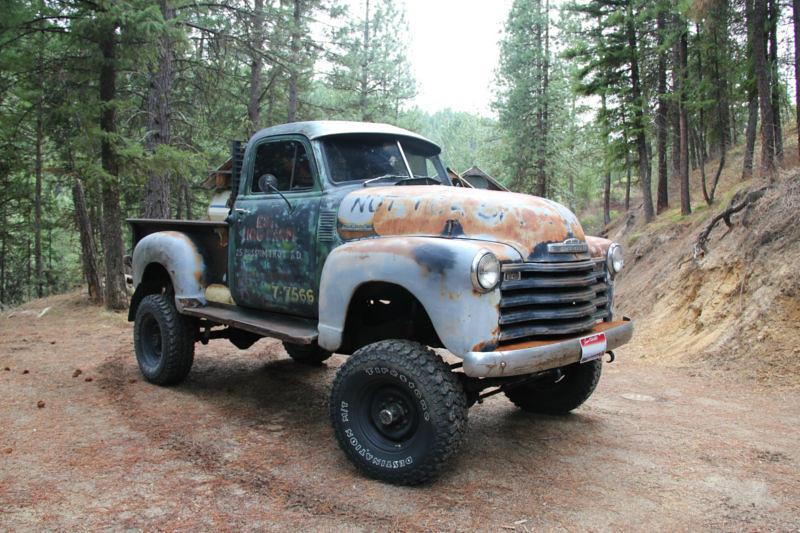 1949 Chevy Truck 4x4 Idaho Truck Steve H Flickr