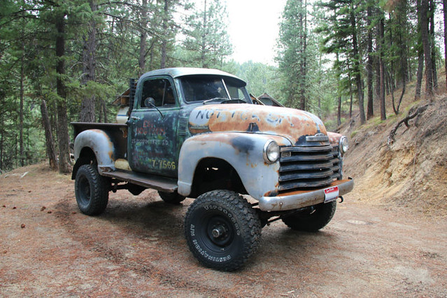 1949 Chevy Truck 4x4 Idaho Truck By Grizfan Flickr