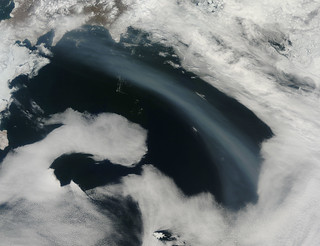 Smoke over the Bering Sea | by NASA Goddard Photo and Video