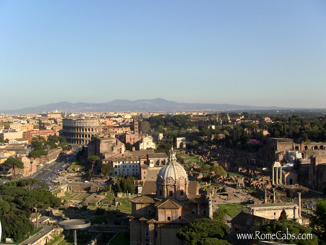 Views from Vittorio Emanuele II Monument