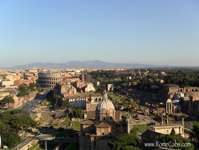 Views from Vittorio Emanuele II Monument