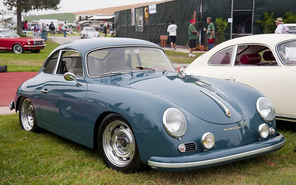 1957 Porsche 356 Coupe Aqua Marine Blue Fvr Steve