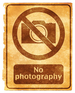 No Photography Grunge Sign | by Free Grunge Textures - www.freestock.ca