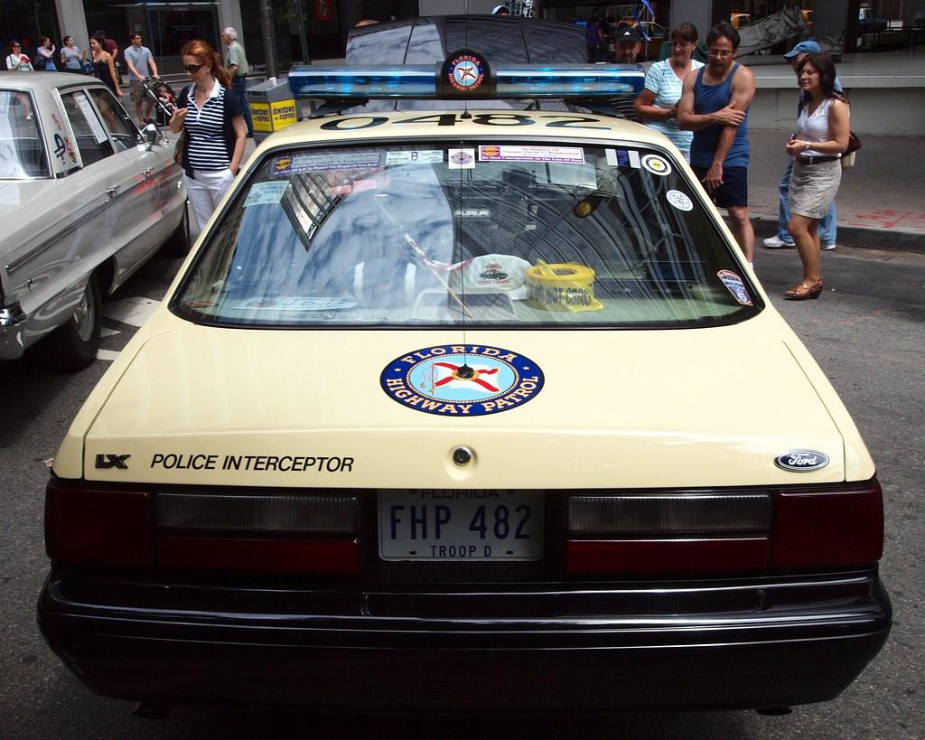 1989 Ford Mustang Florida Highway Patrol Car | 12th Annual V… | Flickr