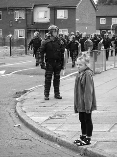 salford riot 2011 | by Broady - Salford art and photography