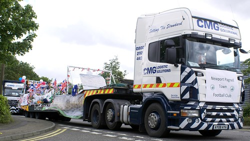 CMG Logistic Solutions Scania R420 Topline | by Scammell Amazon