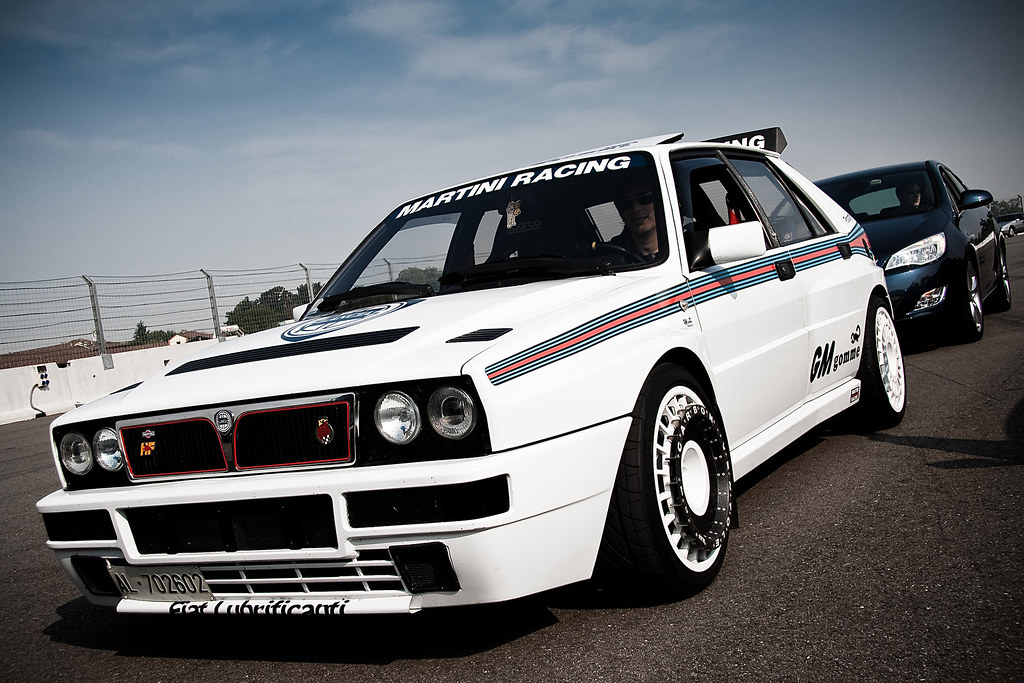 lancia delta hf integrale martini quattroruote raduno de flickr. Black Bedroom Furniture Sets. Home Design Ideas