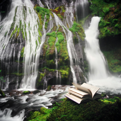 page by page at panther creek falls | by manyfires