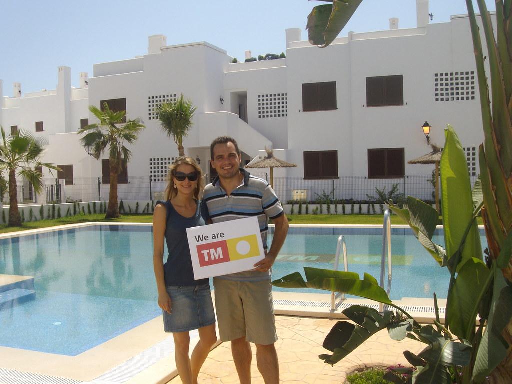 Happy clients at mar de pulpi tm real estate group tm - Mar real estate ...