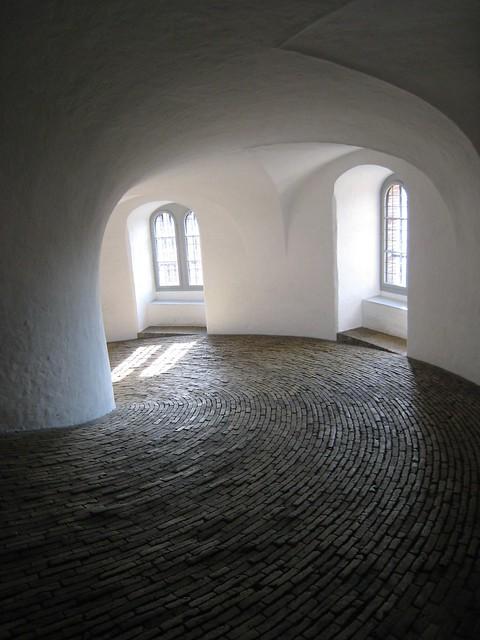 The Spiral Ramp In The Round Tower Rundetaarn