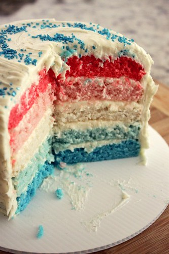 Red White and Blue Cake_3 | by AddisonShaw