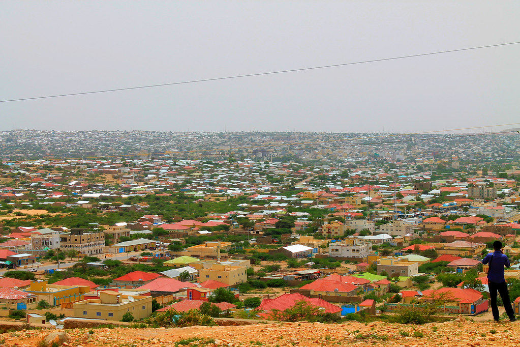 City Of South Gate >> Hargeisa City Somaliland | View from the south side of the ...