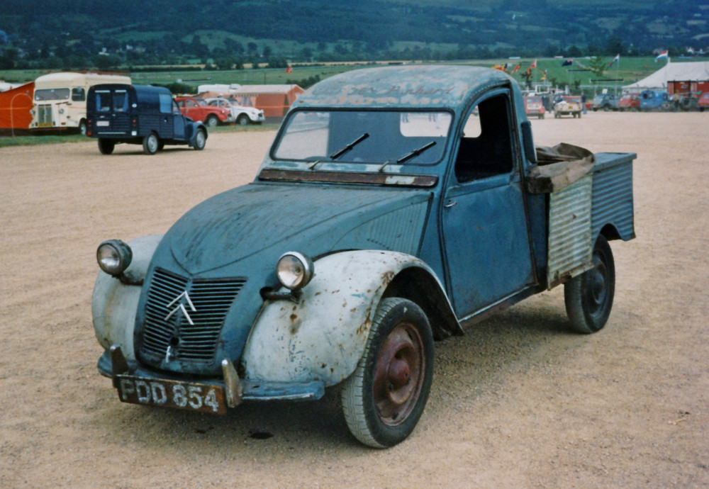 citroen 2cv 1955 slough built pick up this is one of the v flickr. Black Bedroom Furniture Sets. Home Design Ideas