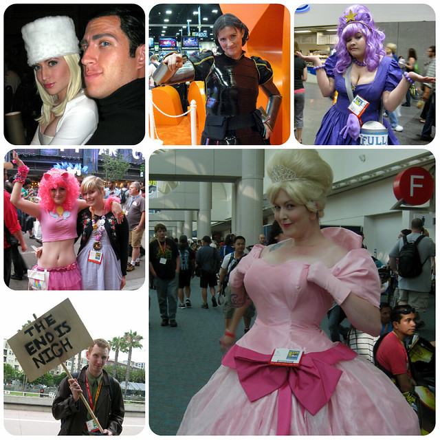 SDCC Cosplay Collage