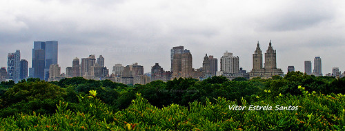 central park e manhattan skyline | by Vitor Estrela Santos