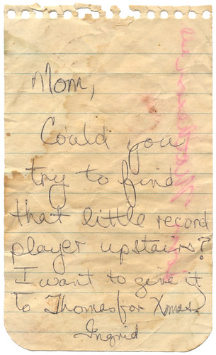 Note From Ingrid To Mom | by Eudaemonius