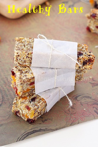 healthy snack bars | by RoxanaGreenGirl | Roxana's Home Baking