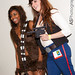 Gender bending Chewbacca & Han Solo at Comic-Con SDCC 2012