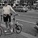 The sideways bike(r).
