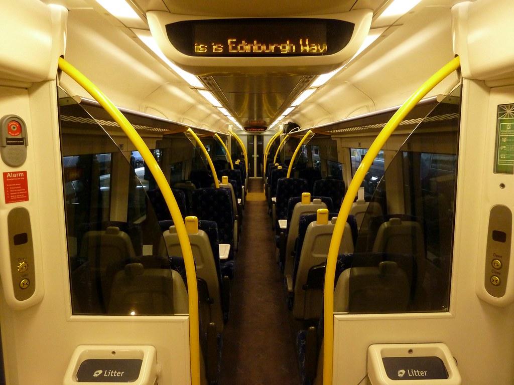 Class 170 Interior By Scotrail The New Saltire Interior